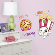 Poppy Corn and Kooky Cookie Giant Wall Decals