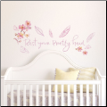 Kathy Davis Pretty Head Quote Wall Decals