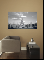 Eiffel Tower Peel and Stick Wall Mural
