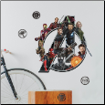 Avengers Infinity War Logo Giant Wall Decals