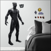 Black Panther Giant Wall Decals