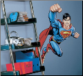 Superman Day of Doom Giant Wall Decal
