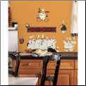 Chefs Kitchen Wall Decals