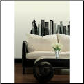 Cityscape Giant Wall Decal