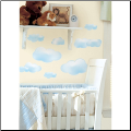 Clouds Peel and Stick Wall Decals