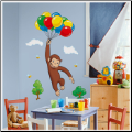 Curious George Giant Wall Decal
