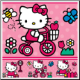 Hello Kitty World Peel & Stick Wallpaper Border