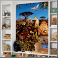 Jungle Animals XL Prepasted Wallpaper Mural