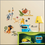 The Lion King Wall Decals Set