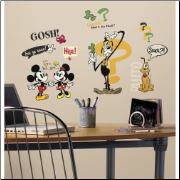 Mickey Mouse Cartoons Wall Decals