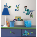 Monsters University Wall Decals