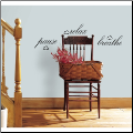 Pause Relax Breathe Wall Decals