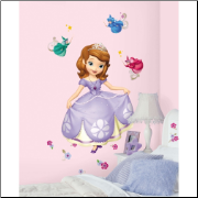 Sofia the First Giant Wall Decal