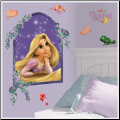 Tangled Rapunzel Giant Wall Decal