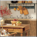 Theres No Place Like Home Wall Decals