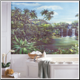 Tropical Lagoon XL Prepasted Wallpaper Mural