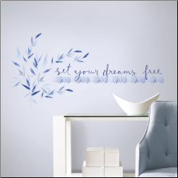 Kathy Davis Set your Dreams Free Wall Decals