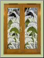 "Bahama Breeze Window Film 23.75"" x 78"""