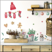Classic Christmas Wall Decals