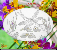 Dragonfly Scene Static Cling Window Decal