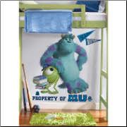Monsters University Giant Sully & Mike Wall Decals