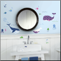 Sea Whales Wall Decals