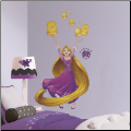 Sparkling Rapunzel Giant Wall Decals