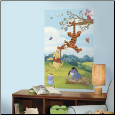 Winnie the Pooh Peel and Stick Wall Mural