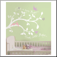 Rock-a-Bye Branch Giant Wall Decals