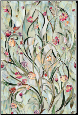 "Spanish Garden Stained Glass Window Film 24"" x 36"""