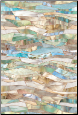 "Terrazzo Stained Glass Window Film 24"" x 36"""