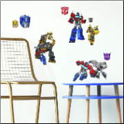 Transformers Cyberverse Wall Decals