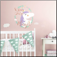Unicorn Magic Giant Wall Decals