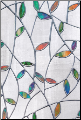 "Valencia Stained Glass Window Film 24"" x 36"""