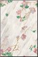 "Wild Rose Privacy Stained Glass Window Film 24"" x 36"""