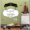 Bon Appetit Dry Erase Board Giant Wall Decal