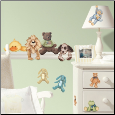 Cuddle Buddies Wall Decals