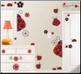 Ladybug Ladybug Peel and Stick Wall Decals