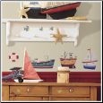 Ship Shape Wall Stickers