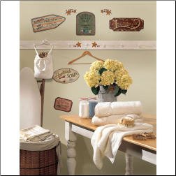 Country Signs Peel and Stick Wall Decals