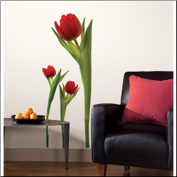 Giant Tulips Wall Decals