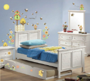 Let it Bee Happy Peel and Stick Wall Decals