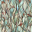 Savannah Stained Glass Privacy Static Cling Window Film
