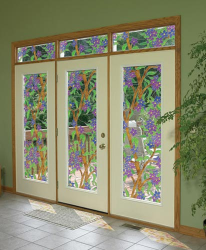 Stained Glass Decorative Window Film Clear