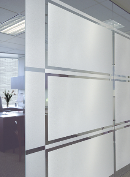 Etched Glass Privacy Decorative Window Film