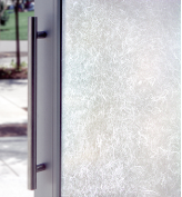 Rice Paper Etched Glass Window Film