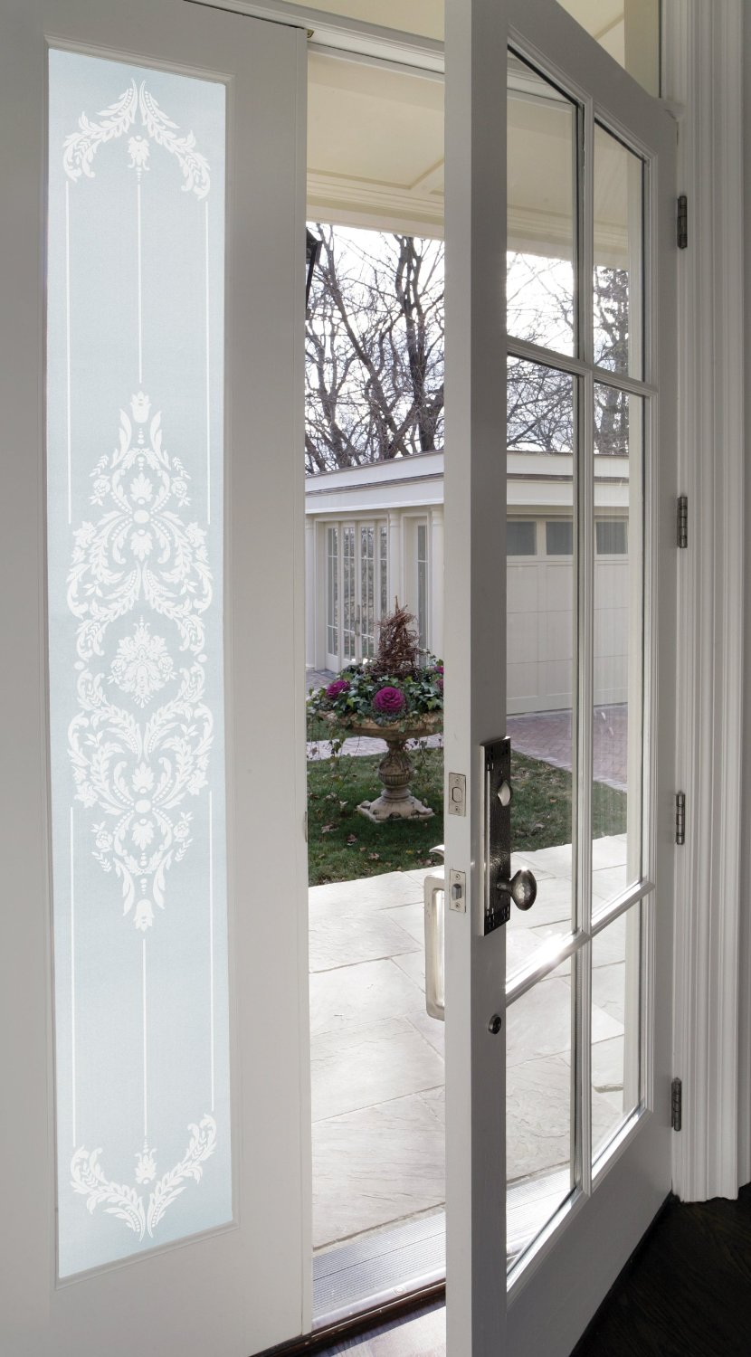 Chateau Textured Decorative Window Film Artscape