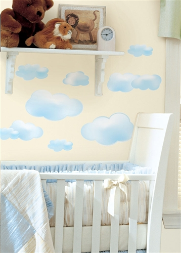 Clouds Peel and Stick Wall Stickers