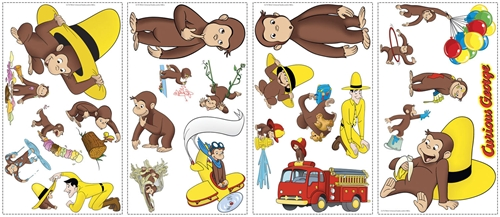 Curious George Wall Stickers Part 28