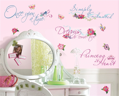 Famous Disney Princess Quotes About Love Wall Decals